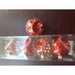 Globuri decorate cu...