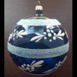 Glob sticla inimioare 5 buc. Diferit decorat