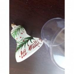 Glob sticla conuri 4 buc. Diferit decorat